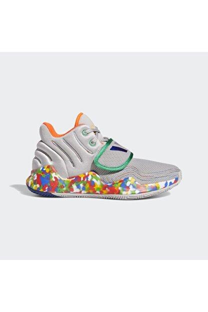 adidas Kadın Gri Deep Threat Basketbol Ayakkabısı