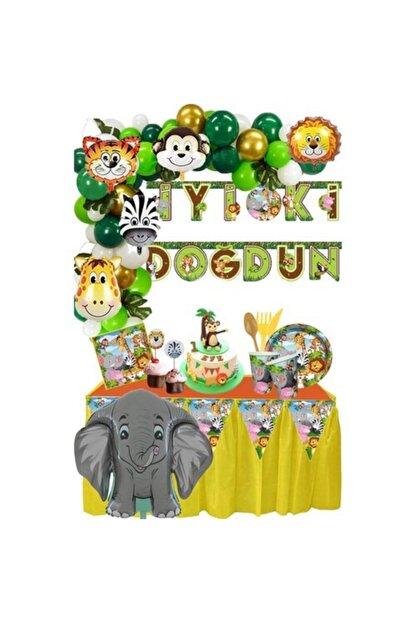 Fixman Mercantoptani Safari Doğum Günü Seti