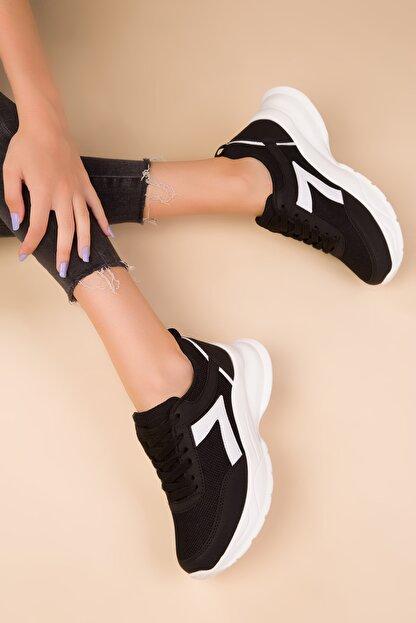 Soho Exclusive Siyah Kadın Sneaker 15218