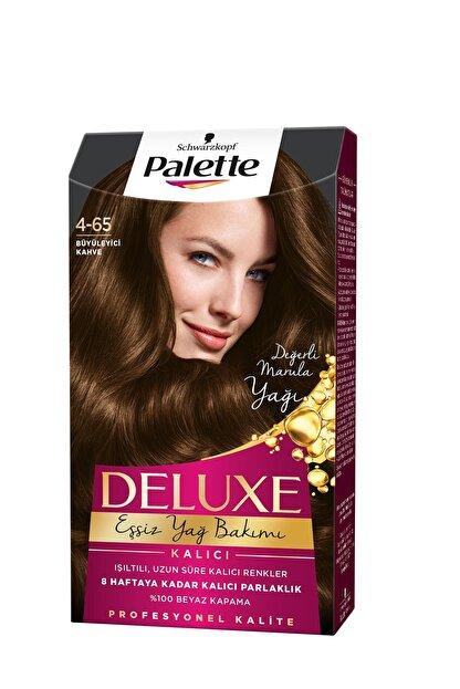Palette Saç Boyası Deluxe 4 65 Büyüleyici Kahve 50 ml