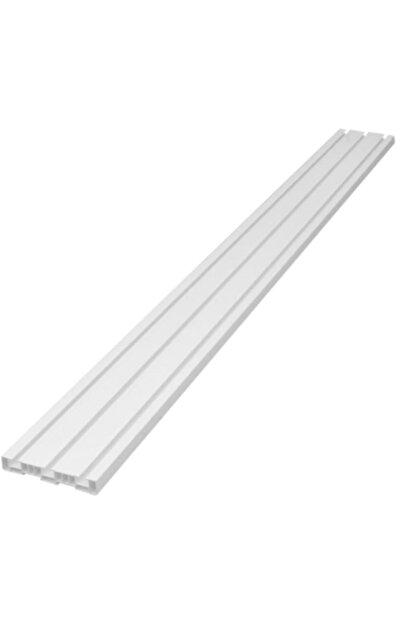 Çelik Fırat 3'lü 3 Raylı Perde Rayı Korniş (1'nci Kalite) 5 Metre
