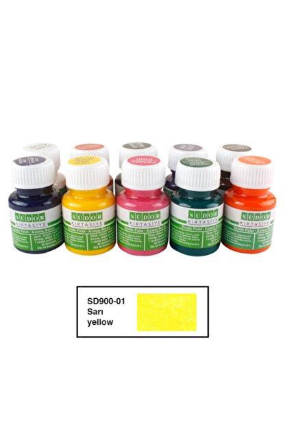 Südor Textıle Color ( Kumaş Boyası ) 25 Ml 10lu Sarı