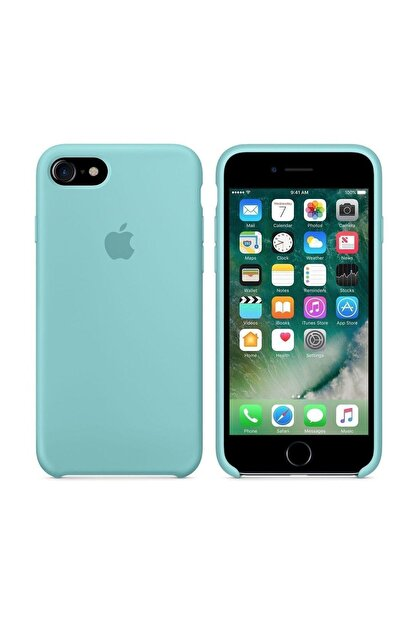 Apple Iphone 7/8 Silikon Deniz Mavisi Kılıf