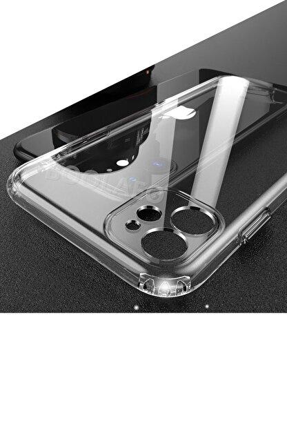 """Dijimedia Apple Iphone 11 6.1"""" Kılıf 3d Tıpalı Kamera Korumalı Şeffaf Silikon Kapak"""