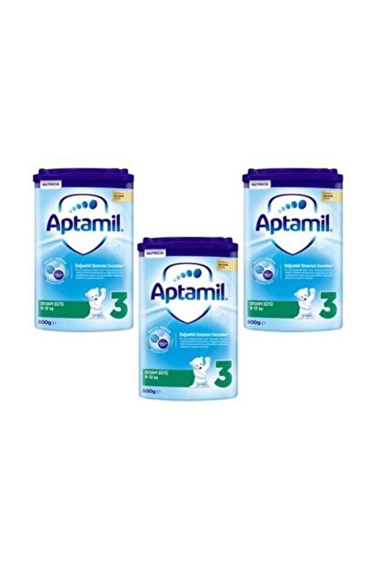 Aptamil 3 Numara Devam Sütü 800 gr - 3'lü Paket