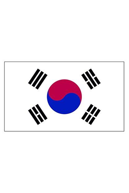 Sticker Fabrikası Kore Bayrağı Sticker 00717 15x9 Cm
