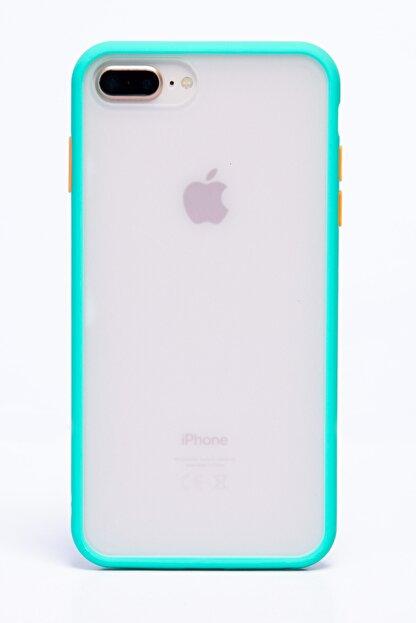 POFHİ Iphone 7 Plus Yeşil Silikon Telefon Kılıfı