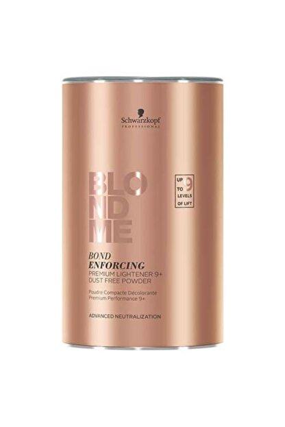 Schwarzkopf Blond Me Bond Enforcing Premium Lightener 9+ Dust Free Powder 450gr