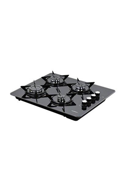 Luxell LX-40TSHDF Siyah Cam Set Üstü - Ankastre Doğalgazlı Ocak