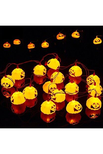 Pi İthalat Balkabağı Şekilli Pilli Cadılar Bayramı Halloween Süsleme 1