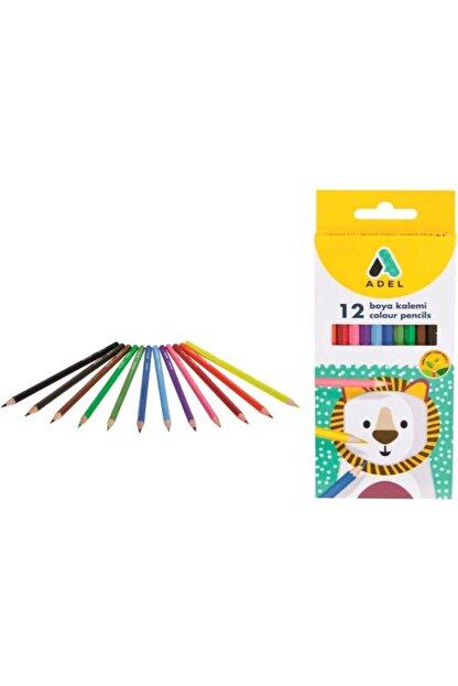 Adel 12' Li Kuru Boya (colour Pencils)
