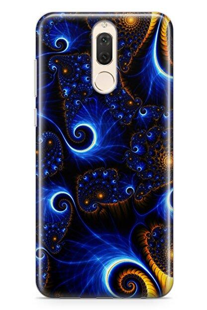 Lopard Huawei Mate 10 Lite Kılıf Çizgili Zerafet Arka Kapak Koruma Desenli Full Koruyucu