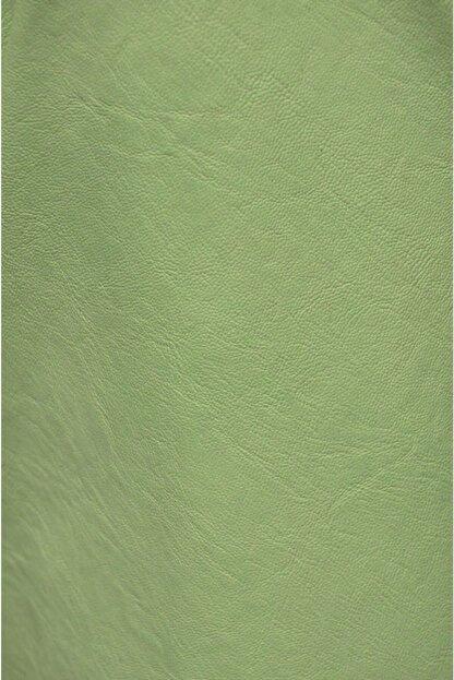 3K Konsept & Esprit Home Nil Yeşili Suni Deri Kumaş