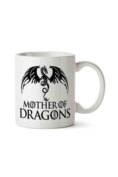 MET DESİGN Mother Of Dragons Game Of Thrones 2 Porselen Kupa Bardak