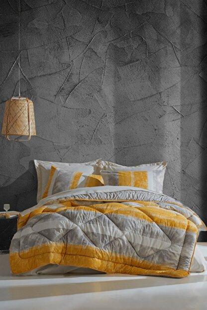Cotton Box Tek Kişilik Uyku Seti Liny Gri