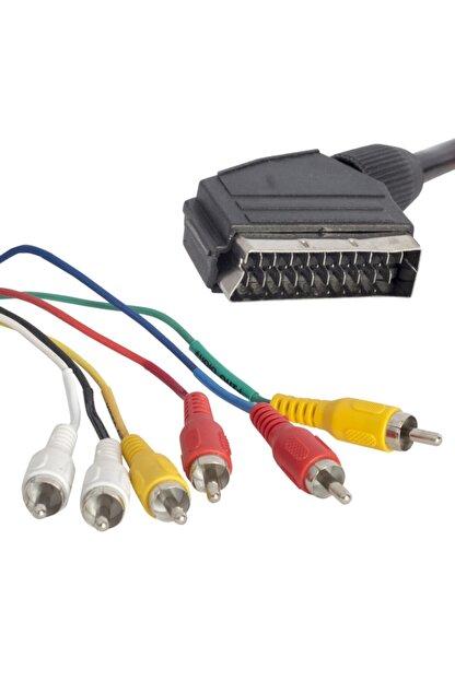 BARIŞ Scart 6 Rca Stereo Standart Kablo
