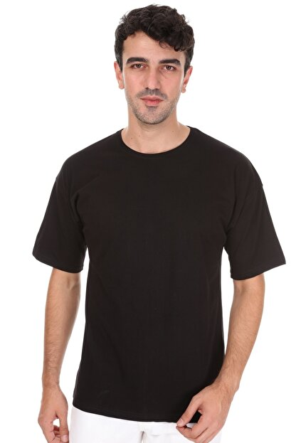 Millionaire Siyah Oversize T-shirt