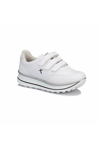 Kinetix Kadin Beyaz Cirtli Spor Ayakkabi Trendyol