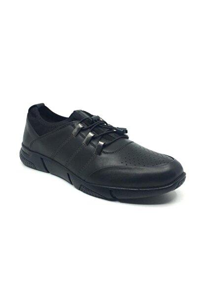 Taşpınar Erkek Siyah Günlük  Bağsız Ayakkabı