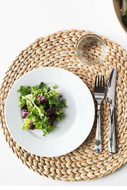 Kitchen Life Hasır Bambu Amerikan Servis  37 cm