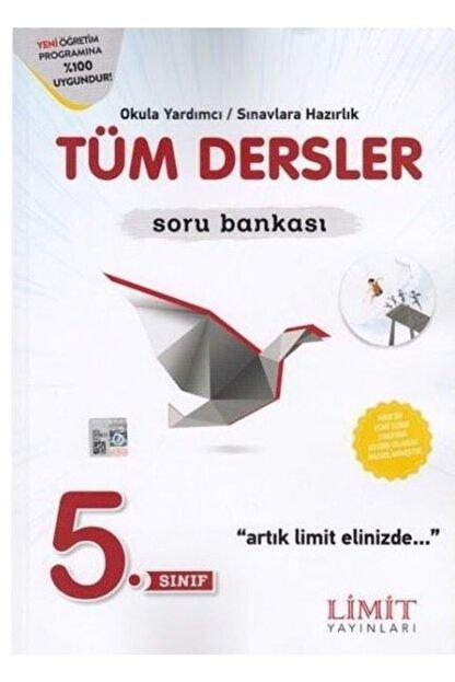 Limit Yayınları 5.Sınıf Tüm Dersler Soru Bankası 2020