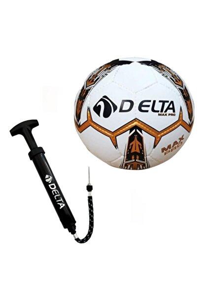 Delta Max Pro El Dikişli 5 Numara Futbol Topu + Top Pompası