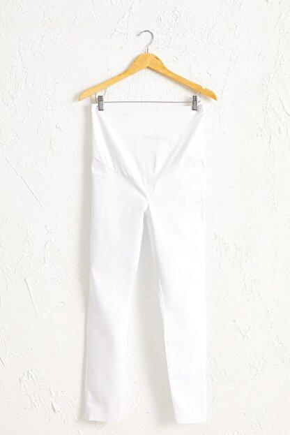 LC Waikiki Kadın  Optik Beyaz  Pantolon 0S0547Z8