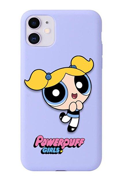 POFHİ Xiaomi Mi A2 Lite Bubbles Powerpuff Girls Lila Premium Telefon Kılıfı