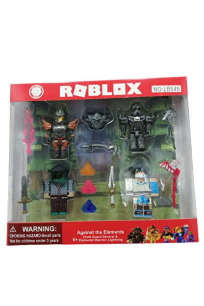 Roblox Oyuncak 4 Lü Figür Set Aksesuarlı 14 Parça