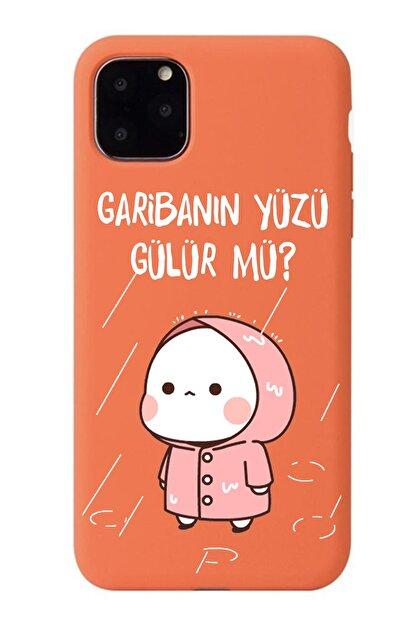 POFHİ General Mobile Gm8 Go Garibanın Yüzü Gülür Mü Turuncu Premium Telefon Kılıfı