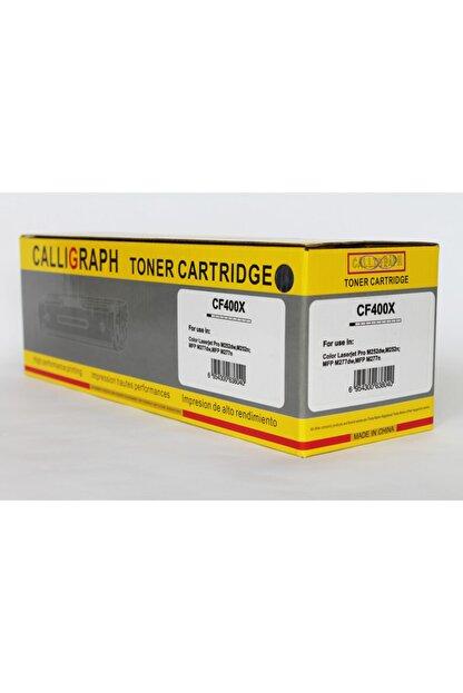 HEX Callıgraph Hp Cf400x (201a) Siyah Toner M277n/m252