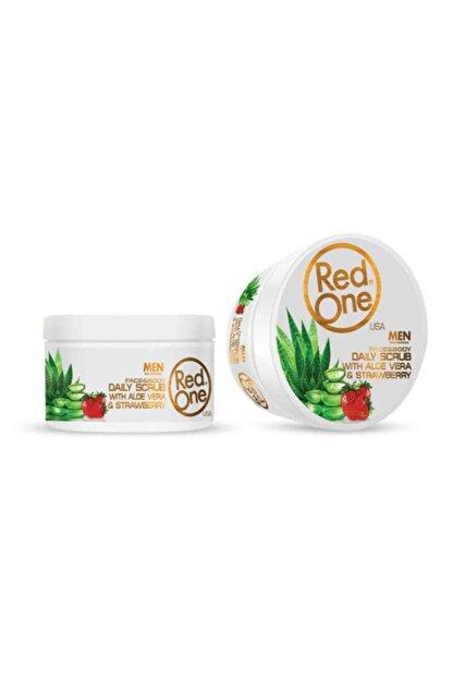 Red One Redone Men Scrub Aloa Vera 450 Ml