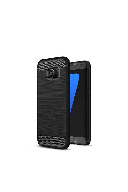 Anka Mobile Samsung S7 Edge Siyah Sılıkon Kapak
