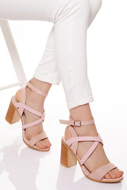derithy -klasik Topuklu Ayakkabı-pudra
