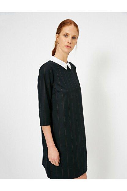Koton Kadın Siyah Elbise