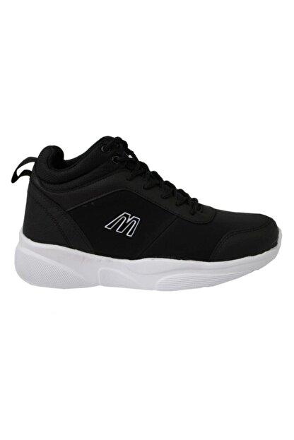 MP Unisex Siyah Yüksek Bilekli Spor Ayakkabı