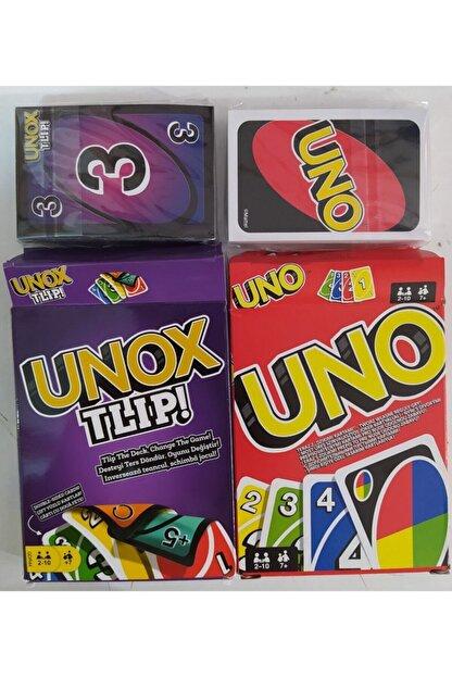 Brother Toys 108 Kartlı Uno ve 112 Kartlı Unox Tlip