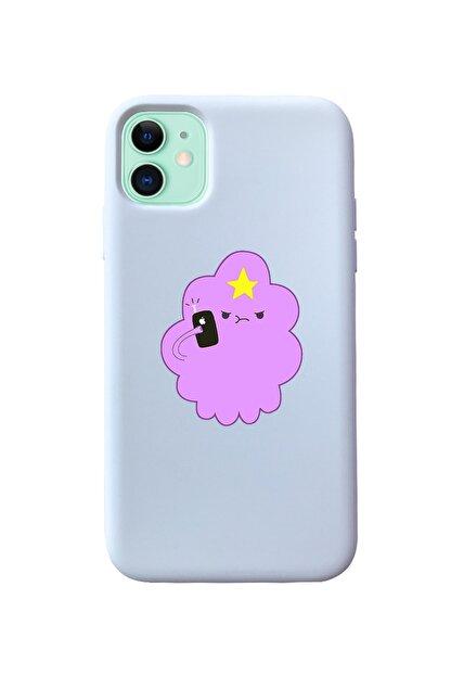 Mupity Iphone 11 Prenses Telefon Tasarımlı Beyaz Lansman Kılıf