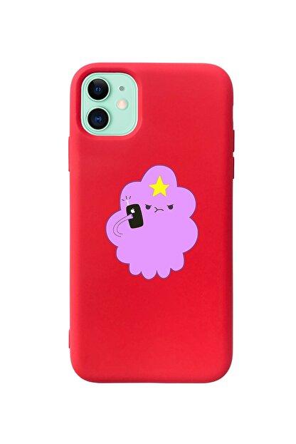 Mupity Iphone 11 Kırmızı Prenses Telefon Tasarımlı Lansman Kılıf
