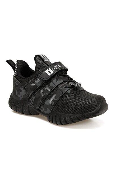 Icool TREE Siyah Erkek Çocuk Koşu Ayakkabısı 100575104
