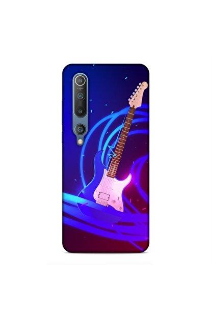 Pickcase Xiaomi Mi 10 Kılıf Desenli Arka Kapak Gitar