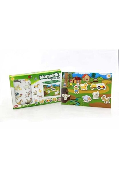 MinionToys Manyetik Çiftlik Seti