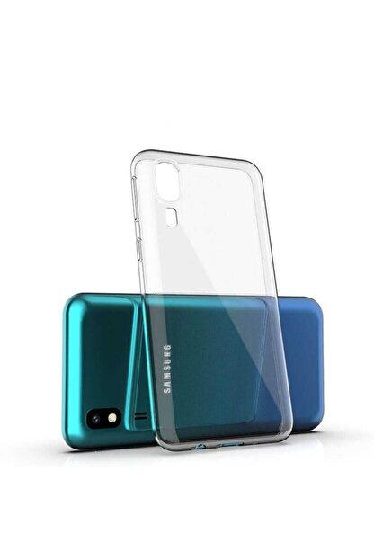 ankacep Galaxy A2 Core Kılıf Süper Silikon Ultra Ince Kapak