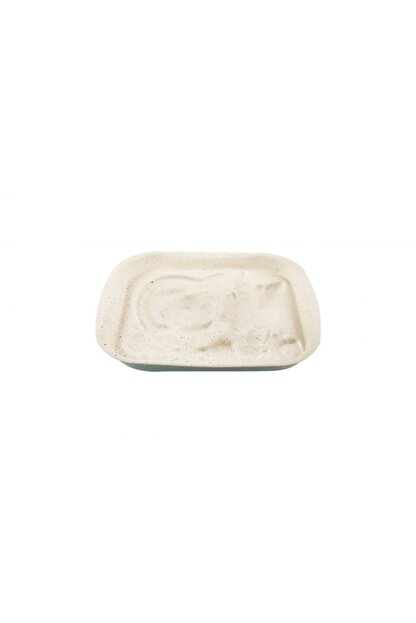 EW's Kitchenware Mint Krem Köşeli Granit Kek Kalıbı