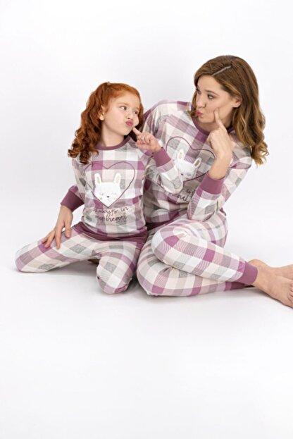 Arnetta Anne Kız Kombin Somon Pijama Takım 901