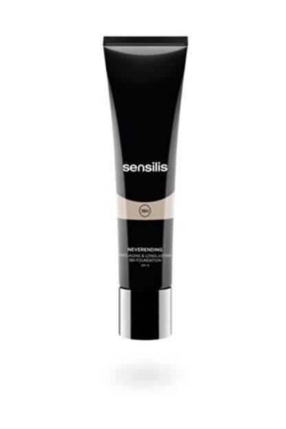 sensilis Fondöten - Neverendıng Antiaging Longlasting Foundation Spf15 Colour 04 - Sand
