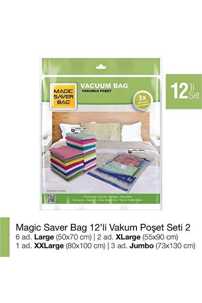 Magic Saver Bag 12´li Vakumlu Poşet Seti 2