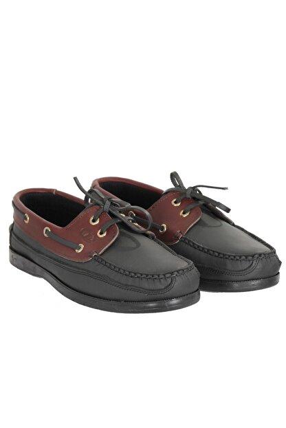 Baymen Erkek Bordo Deri Loafer Ayakkabı