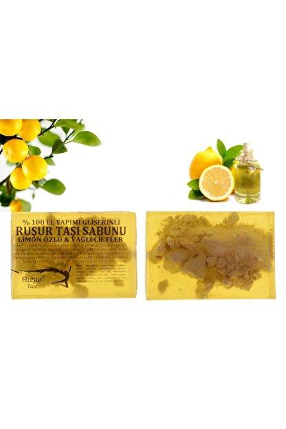 Ruşur Sefidab Ruşur Taşı Sabunu Limon Özlü %100 El Yapımı