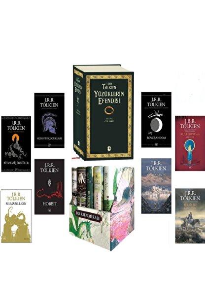 İthaki Yayınları Tolkien Külliyatı 14 Kitap Set Yüzüklerin Efendisi Silmarillion-hobbit-bitmemiş Öyküler-orta Dünya
